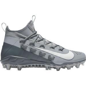 ナイキ Nike メンズ シューズ・靴 ラクロス Alpha Huarache 6 Elite Lacrosse Cleats Grey/White|fermart-shoes