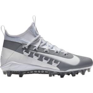ナイキ Nike メンズ シューズ・靴 ラクロス Alpha Huarache 6 Elite Lacrosse Cleats White/Grey|fermart-shoes