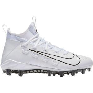 ナイキ Nike メンズ シューズ・靴 ラクロス Alpha Huarache 6 Elite Lacrosse Cleats White/Black|fermart-shoes