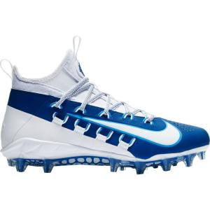 ナイキ Nike メンズ シューズ・靴 ラクロス Alpha Huarache 6 Elite Lacrosse Cleats White/Blue|fermart-shoes