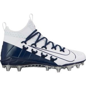ナイキ Nike メンズ シューズ・靴 ラクロス Alpha Huarache 6 Elite Lacrosse Cleats White/Navy|fermart-shoes