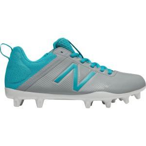 ニューバランス レディース シューズ・靴 ラクロス Draw Lacrosse Cleats Grey/Blue|fermart-shoes
