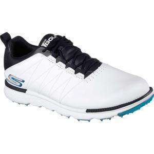 スケッチャーズ メンズ シューズ・靴 ゴルフ GO GOLF Elite 3 Golf Shoes White/Navy|fermart-shoes