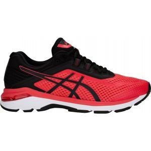 アシックス ASICS メンズ シューズ・靴 ランニング・ウォーキング GT-2000 6 Running Shoes Red/Black|fermart-shoes