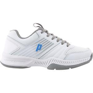 プリンス レディース シューズ・靴 テニス Truth Tennis Shoes White/Blue|fermart-shoes