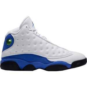 ナイキ ジョーダン メンズ シューズ・靴 バスケットボール Jordan Air Jordan 13 Retro Basketball Shoes White/Blue fermart-shoes