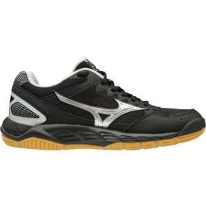 ミズノ Mizuno レディース シューズ・靴 バレーボール Wave Supersonic Volleyball Shoes Black/Silver fermart-shoes
