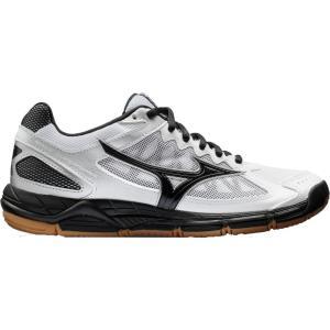 ミズノ Mizuno レディース シューズ・靴 バレーボール Wave Supersonic Volleyball Shoes White/Black fermart-shoes