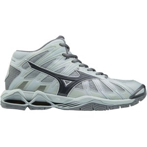 ミズノ メンズ シューズ・靴 バレーボール Wave Tornado X2 Mid Volleyball Shoes Grey|fermart-shoes