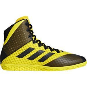 アディダス adidas メンズ シューズ・靴 レスリング Mat Wizard 4 Wrestling Shoes Yellow/Black|fermart-shoes