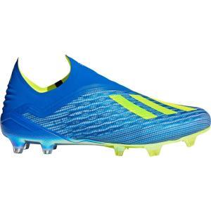 アディダス メンズ シューズ・靴 サッカー X 18+ FG Soccer Cleats Blue/Solar Yellow fermart-shoes