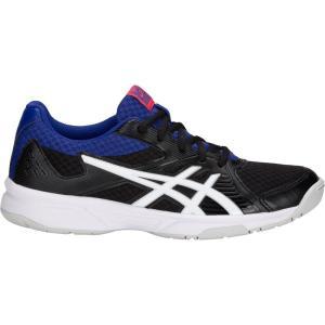 アシックス レディース シューズ・靴 バレーボール Upcourt 3 Volleyball Shoes Black/White|fermart-shoes