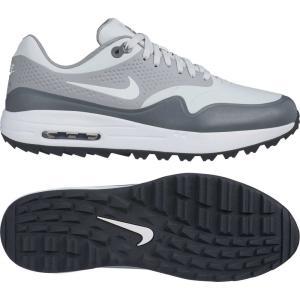 ナイキ Nike メンズ シューズ・靴 ゴルフ Air Max 1 G Golf Shoes Grey/White fermart-shoes