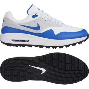 ナイキ Nike メンズ シューズ・靴 ゴルフ Air Max 1 G Golf Shoes White/Blue fermart-shoes