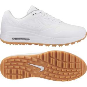 ナイキ Nike メンズ シューズ・靴 ゴルフ Air Max 1 G Golf Shoes White/Gum Lt Brown fermart-shoes