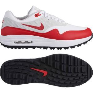 ナイキ Nike メンズ シューズ・靴 ゴルフ Air Max 1 G Golf Shoes White/Univ Red/Grey fermart-shoes