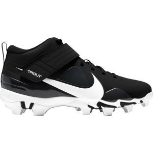 ナイキ Nike メンズ 野球 スパイク シューズ・靴 Force Trout 7 Keystone Baseball Cleats Black/White|fermart-shoes