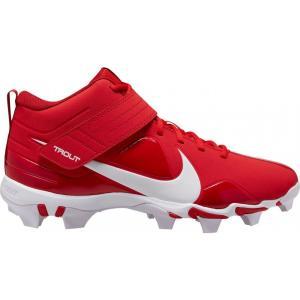 ナイキ Nike メンズ 野球 スパイク シューズ・靴 Force Trout 7 Keystone Baseball Cleats Red/White|fermart-shoes