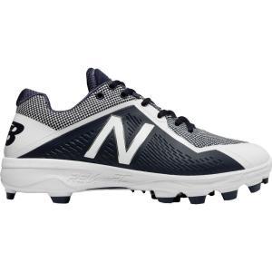 ニューバランス New Balance メンズ 野球 スパイク シューズ・靴 4040 V4 TPU Baseball Cleats Navy/White|fermart-shoes
