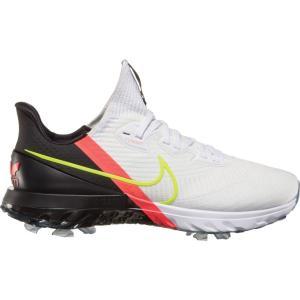 ナイキ Nike メンズ ゴルフ エアズーム シューズ・靴 Air Zoom Infinity Tour Golf Shoes Black/Flash Crimson|fermart-shoes