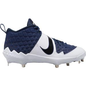 ナイキ Nike メンズ 野球 スパイク シューズ・靴 Force Trout 6 Pro Metal Baseball Cleats Navy/Black|fermart-shoes
