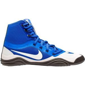 ナイキ Nike メンズ レスリング シューズ・靴 Hypersweep Wrestling Shoes Blue/White fermart-shoes