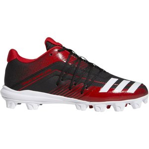 アディダス adidas メンズ 野球 スパイク シューズ・靴 adizero Afterburner 6 Baseball Cleats Black/Red|fermart-shoes
