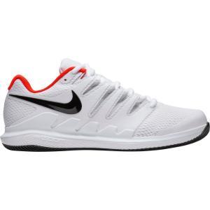 ナイキ Nike メンズ テニス エアズーム シューズ・靴 Air Zoom Vapor X Tennis Shoes White/Black/Red fermart-shoes