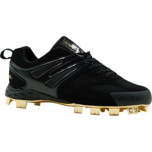 ローリングス Rawlings メンズ 野球 スパイク シューズ・靴 Conquer TPU Baseball Cleats Black|fermart-shoes