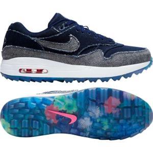 ナイキ Nike メンズ ゴルフ シューズ・靴 Limited Edition Air Max 1 G NRG Denim Golf Shoes Denim fermart-shoes