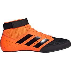 アディダス adidas メンズ レスリング シューズ・靴 Mat Hog 2.0 Wrestling Shoes Orange/Black|fermart-shoes