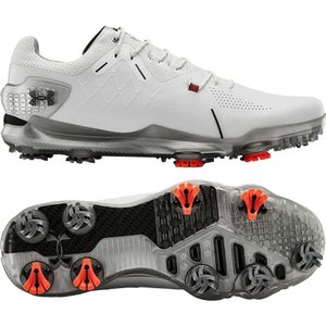アンダーアーマー Under Armour メンズ ゴルフ シューズ・靴 Spieth 4 GTX Golf Shoes White/Black|fermart-shoes