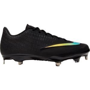 ナイキ Nike メンズ 野球 スパイク シューズ・靴 Lunar Vapor Ultrafly Elite 2 Baseball Cleats Black/Black|fermart-shoes