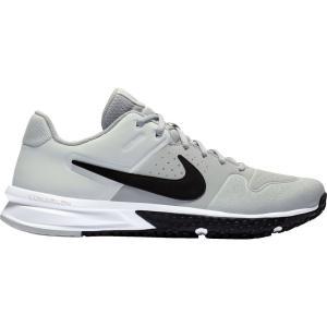 ナイキ Nike メンズ 野球 スパイク シューズ・靴 Alpha Huarache Varsity Turf Baseball Cleats Grey/Black|fermart-shoes