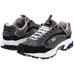 スケッチャーズ メンズ スニーカー シューズ・靴 Stamina - Nuovo Charcoal/Black fermart-shoes