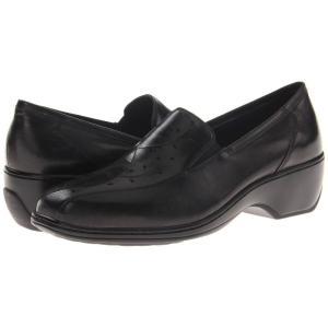 アラヴォン Aravon レディース ローファー・オックスフォード シューズ・靴 Kiley Black|fermart-shoes