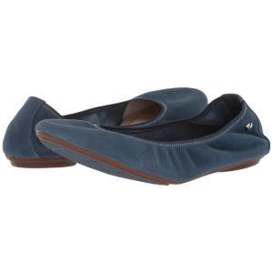 ハッシュパピー Hush Puppies レディース スリッポン・フラット シューズ・靴 Chaste Ballet Vintage Indigo Suede|fermart-shoes