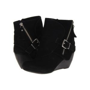 ブローフィッシュ Blowfish レディース ブーツ シューズ・靴 Bilocate Black Fawn|fermart-shoes