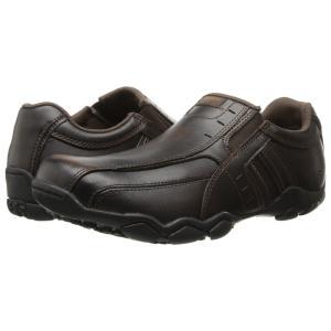 スケッチャーズ SKECHERS メンズ スニーカー シューズ・靴 Diameter Dark Brown|fermart-shoes