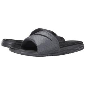 ナイキ Nike メンズ サンダル シューズ・靴 Benassi Solarsoft Slide 2 Dark Grey/Black fermart-shoes