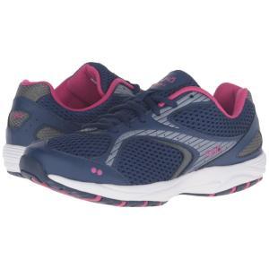 ライカ Ryka レディース スニーカー シューズ・靴 Dash 2 Jet Ink Blue/Meteorite/Fuchsia Purple|fermart-shoes
