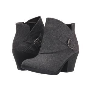 ブローフィッシュ Blowfish レディース ブーツ シューズ・靴 Suba Grey Two-Tone Flannel|fermart-shoes