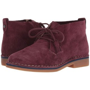 ハッシュパピー Hush Puppies レディース ブーツ シューズ・靴 Cyra Catelyn Dark Wine Suede|fermart-shoes