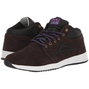 ラカイ Lakai メンズ スニーカー シューズ・靴 Griffin Mid Weather Treated Chocolate Suede|fermart-shoes