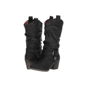 ロケットドッグ Rocket Dog レディース ブーツ シューズ・靴 Sidestep Black Lewis|fermart-shoes