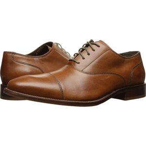 コールハーン Cole Haan メンズ 革靴・ビジネスシューズ シューズ・靴 Williams Cap Toe II British Tan|fermart-shoes