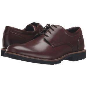 ロックポート Rockport メンズ 革靴・ビジネスシューズ シューズ・靴 Sharp & Ready Colben Brown Burnished Leather|fermart-shoes