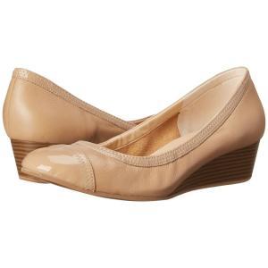 コールハーン レディース ヒール シューズ・靴 Elsie Cap Toe Wedge II Maple Sugar/Patent|fermart-shoes