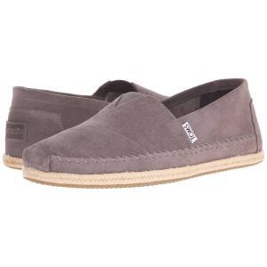 トムズ メンズ 革靴・ビジネスシューズ シューズ・靴 Seasonal Classics Grey Suede|fermart-shoes