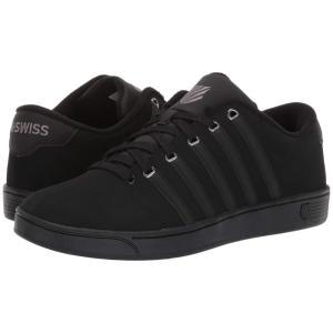ケースイス K-Swiss メンズ スニーカー シューズ・靴 Court Pro II CMF Black/Charcoal|fermart-shoes